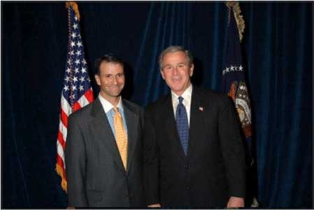 Jack Abramoff did indeed have relations with that man, Mr. Bush