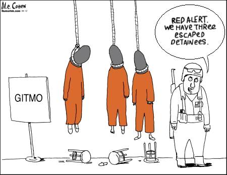 Red Alert--Hanging Hajjis!