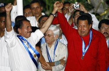 Chavecito with Daniel Ortega