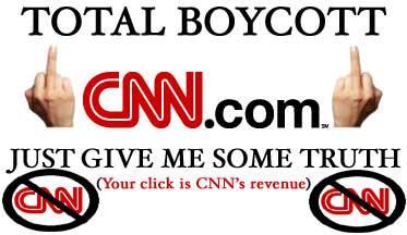 Boycott CNN--it's all bullshit