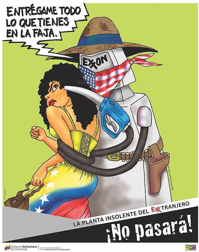 Exxon holding up Venezuela