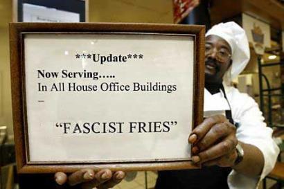 Mmmmmm...Fascist Fries!