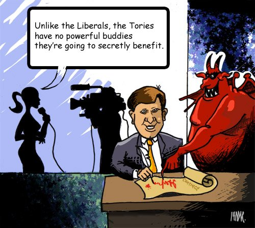 Who is Stiffy Harper's little red crony?