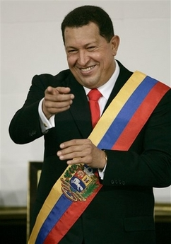 Hugo Chavez, re-inaugurated yet again!