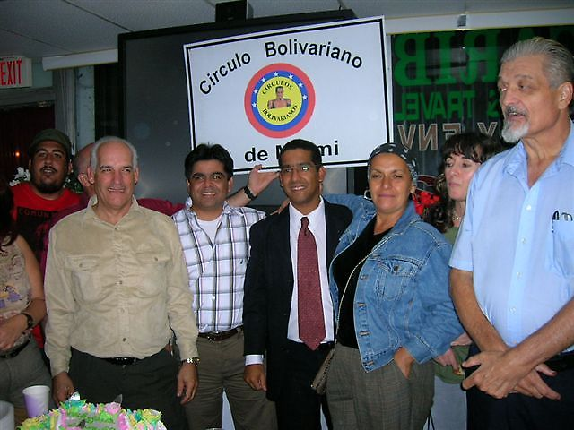 Members of the Bolivarian Circle of Miami