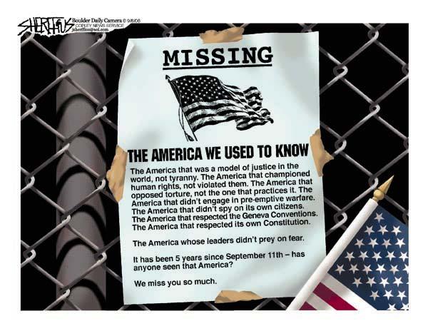 Missing: America