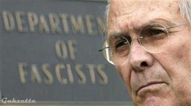 Rummy, head of the Dept. of Fascism