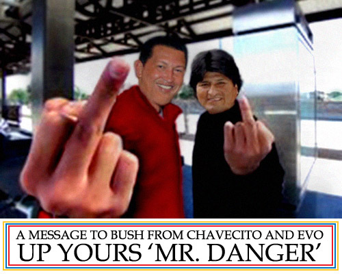 Up yours, Mr. Danger!