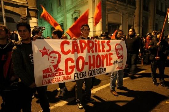 capriles-go-home