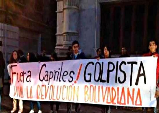 fuera-capriles-golpista