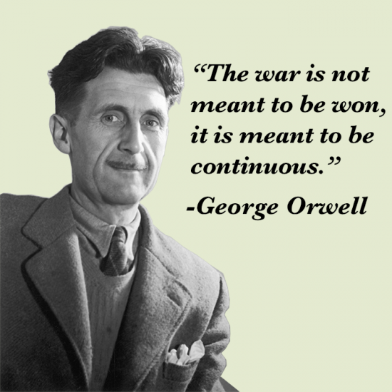 orwell-on-war