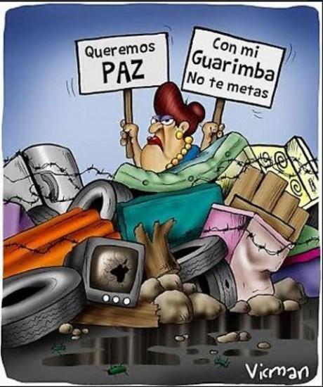 paz-guarimba-contradiction
