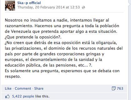 ska-p-facebook-post