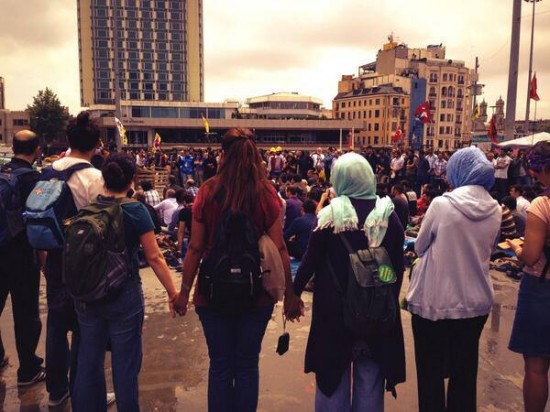turkish-demonstrators